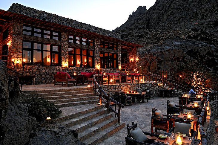 Six Senses Zighy Bay restaurant