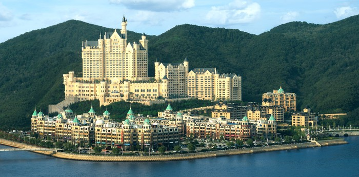The Castle Hotel in Dalian