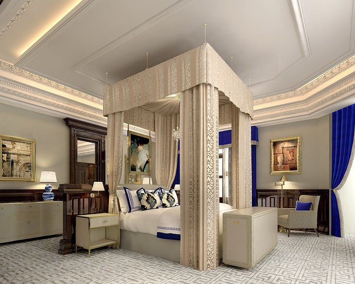 Trump International Hotel Washington Presidential Suite bedroom