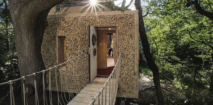 The Woodman's Treehouse - Luxury Treehouse In Dorset For A London Weekend Getaway