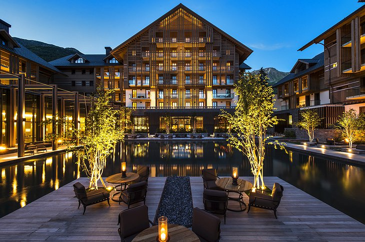 The Chedi Andermatt building