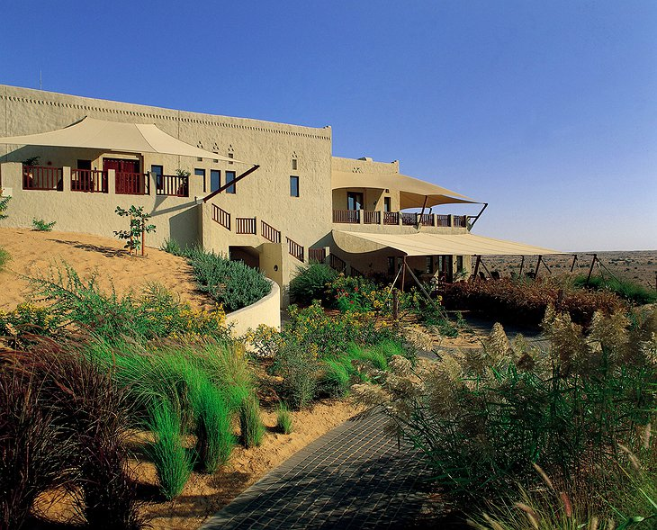 Al Maha Desert Resort main building