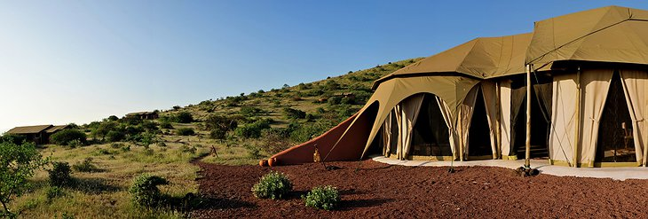 Shu'mata Camp tents