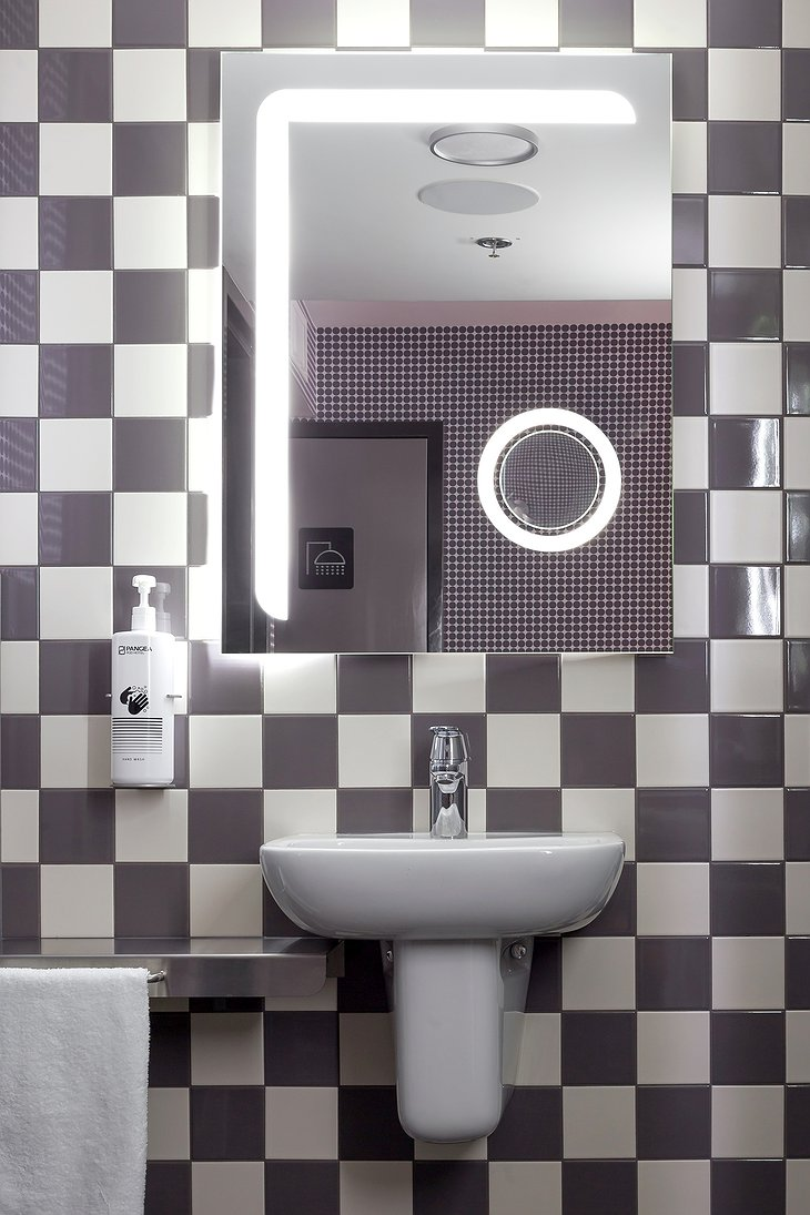 Pangea Pod Hotel Bathroom