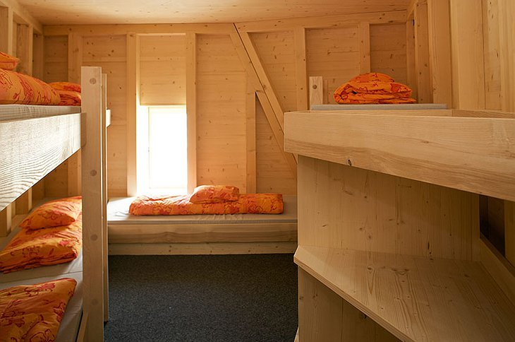 The New Monte Rosa Hut room