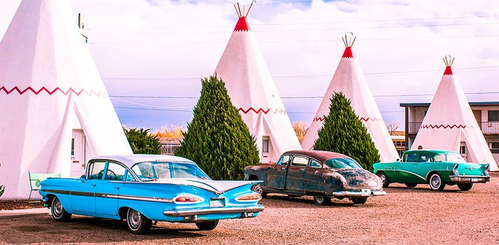 Wigwam Motel - Tipis On The Historic U.S. Route 66