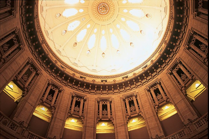Umaid Bhawan Palace dome ceiling