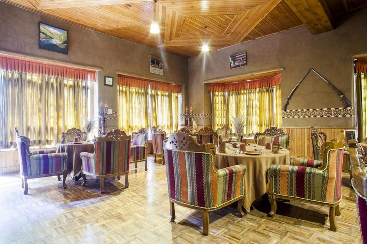 The Himalayan Village Resort dining room