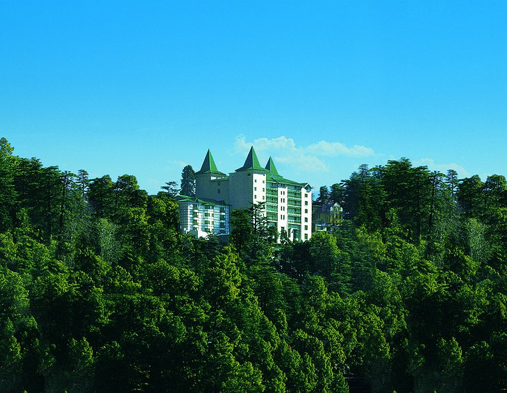 The Oberoi Cecil in Shimla mountains