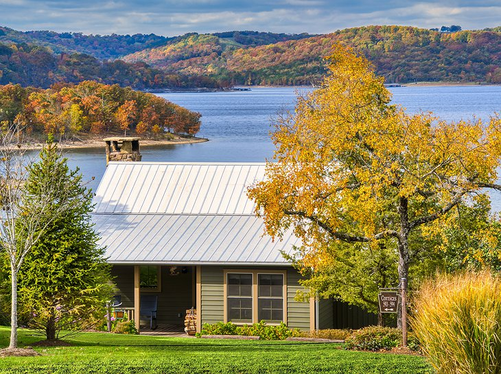 Big Cedar Lodge Lakeside Cottage