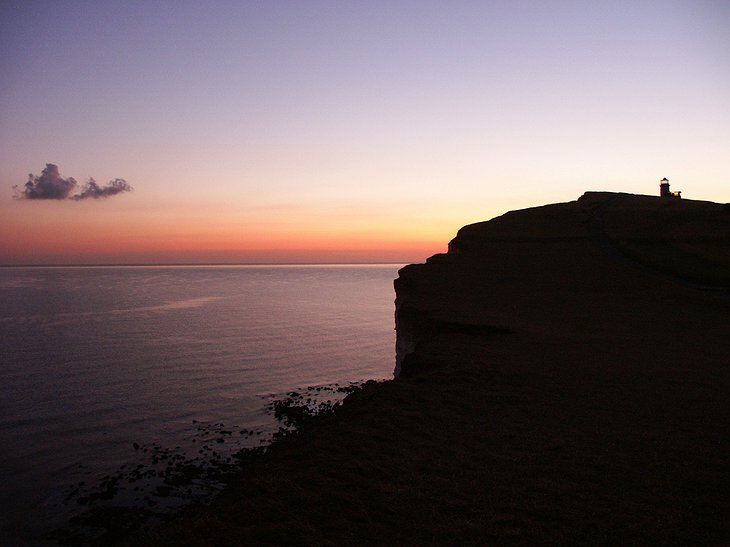 Belle Tout at Sunse