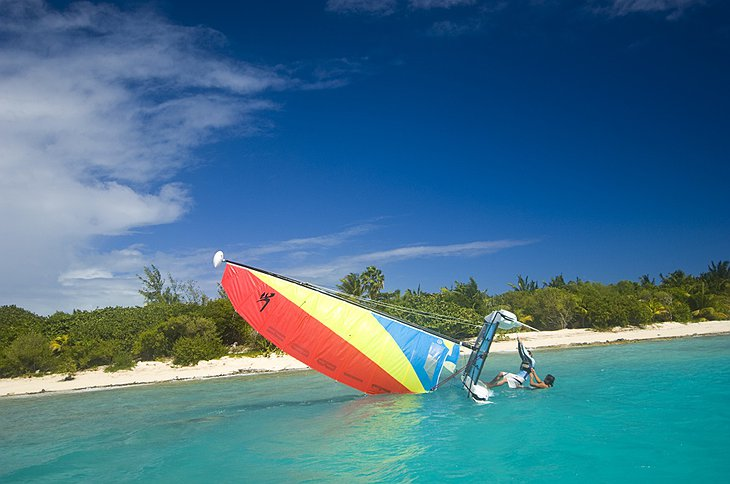 Necker Island windsurf