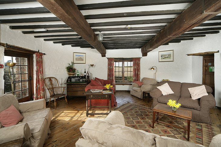 Cley Windmill living room