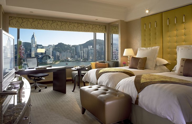 InterContinental Hong Kong harbourview room