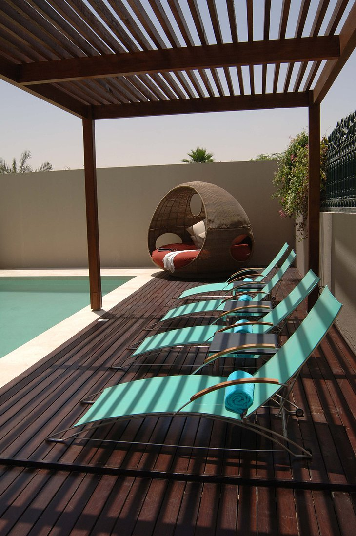Desert Palm Resort Dubai private pool