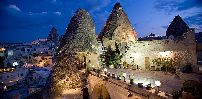 Kelebek Cave Hotel - Mythical Rock Formations In Cappadocia