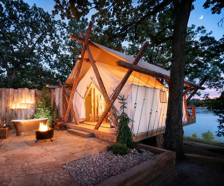 Long Creek Glamping at Big Cedar Lodge