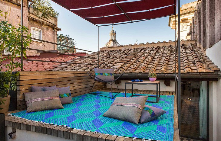 Romantic Suite rooftop terrace