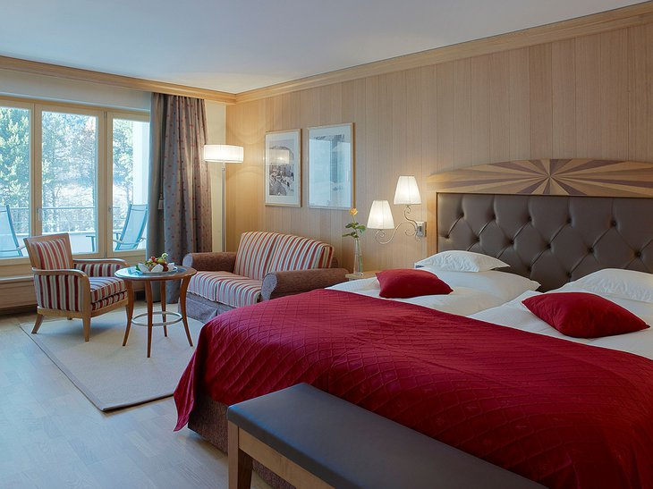 Grand Hotel Kronenhof Double room