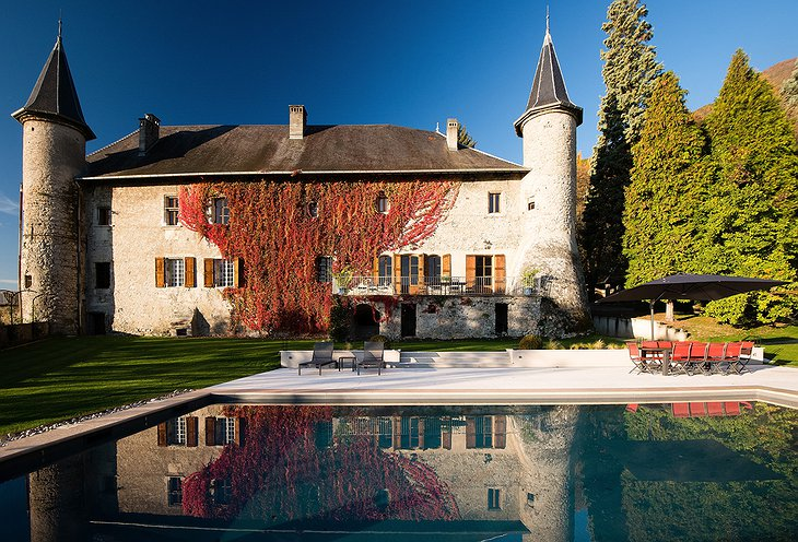 Chateau St Philippe with outdoor swimming pool