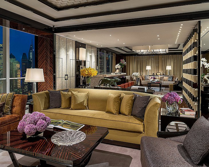 Four Seasons Hotel Pudong pearl suite