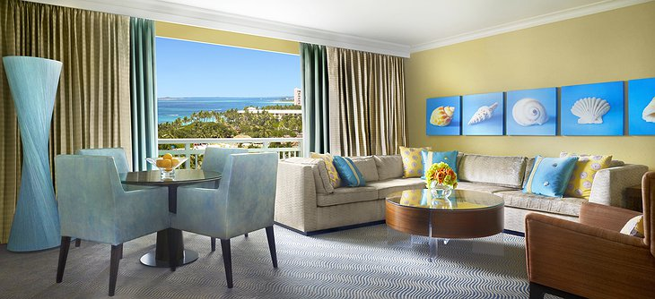 Hotel Atlantis Paradise Island Royal Regal suite
