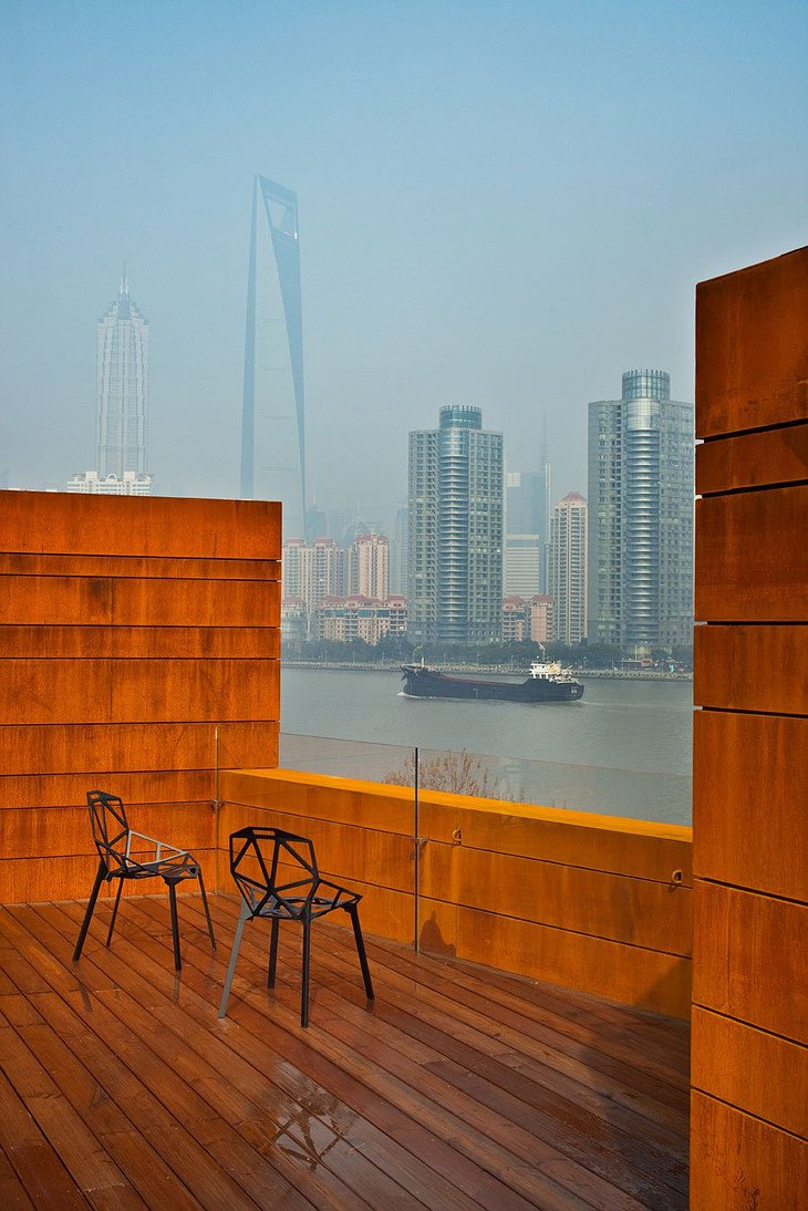 The Waterhouse at South Bund rooftop terrace