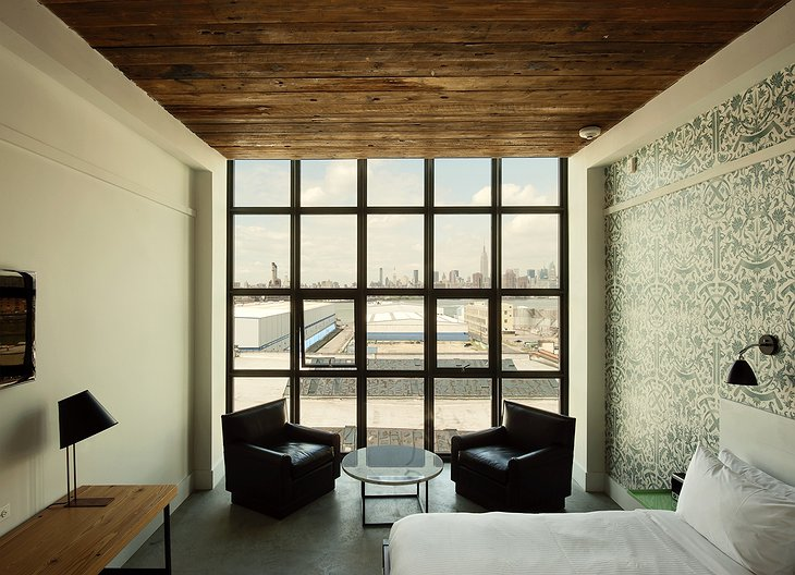 Wythe Hotel guestroom