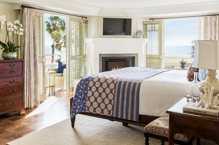 Shutters on the Beach room with ocean views