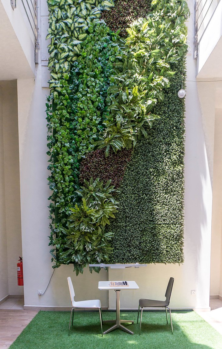 The Mesui Hotel Green Wall