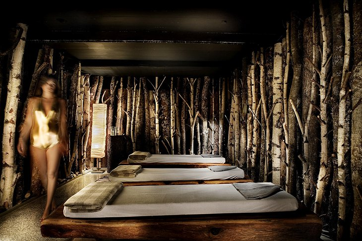 Pure Altitude Spa relaxation beds