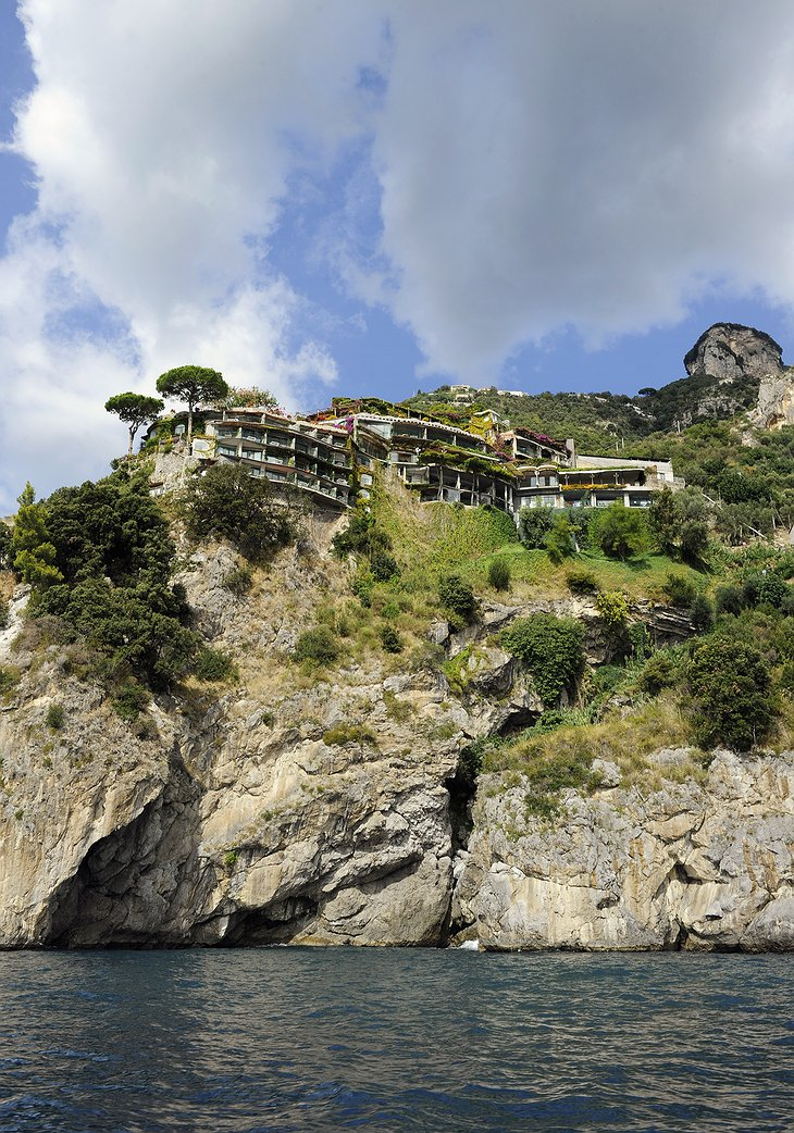 Il San Pietro di Positano on the cliffs