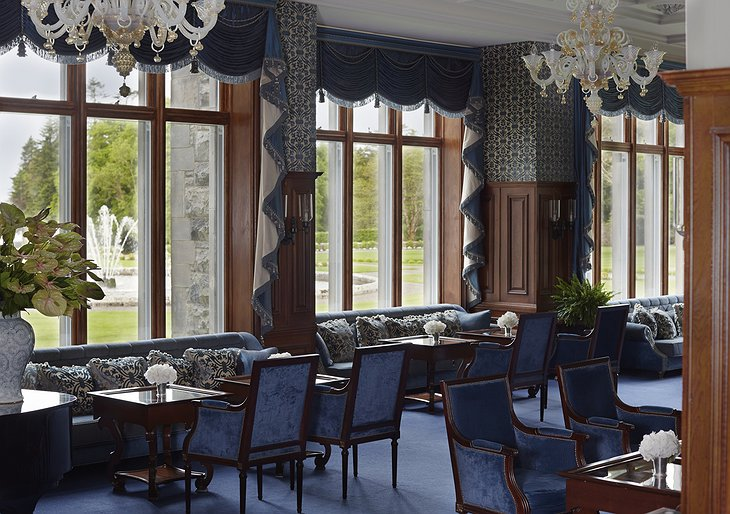 Ashford Castle lounge