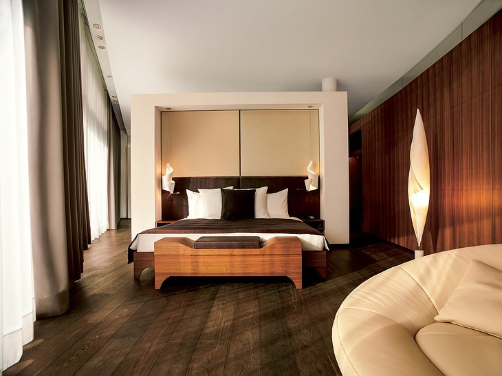 The Dolder Grand Carezza Suite Bedroom