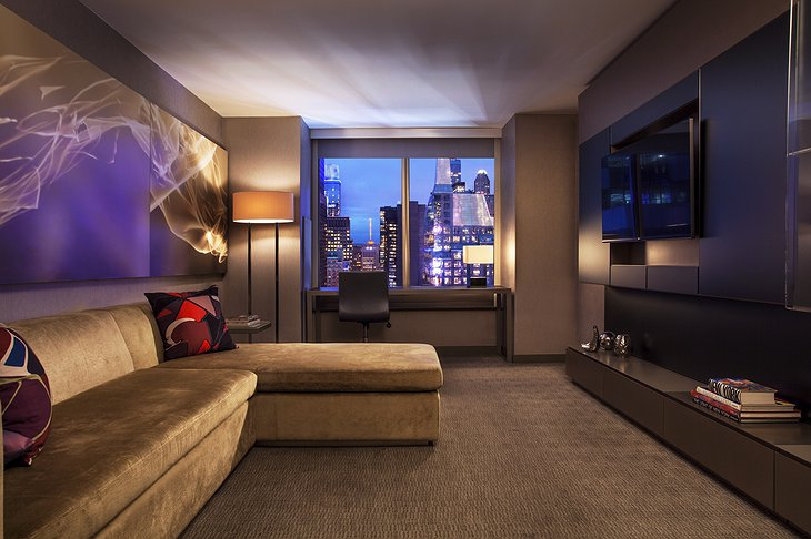 W New York hotel room