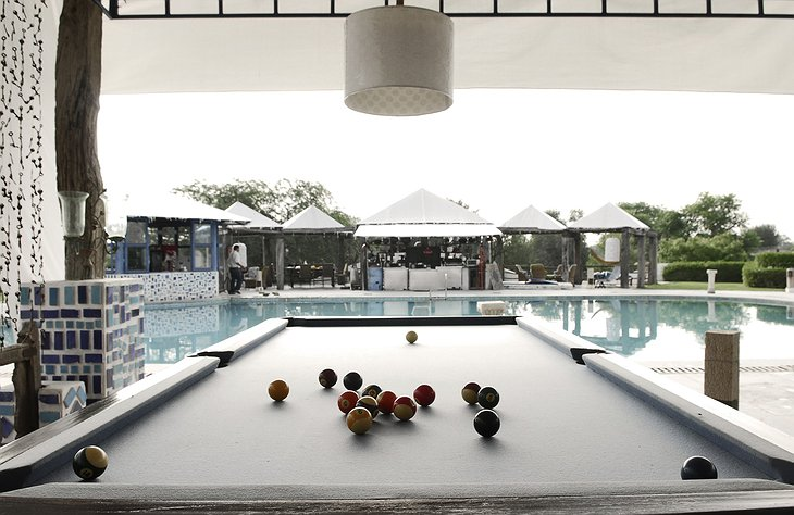 The Farm Jaipur billiard