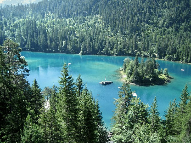 Caumasee In The Summer