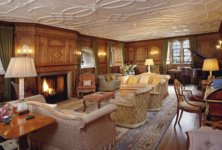 Hever Castle Drawing Room