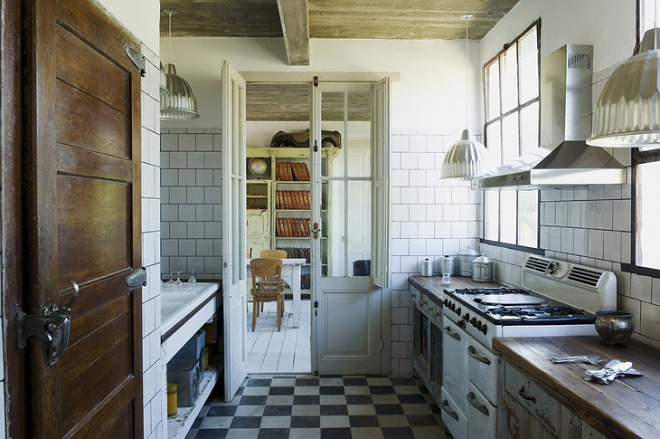 Casa Zinc kitchen