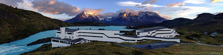 Hotel Salto Chico Explora Patagonia panoramic photo