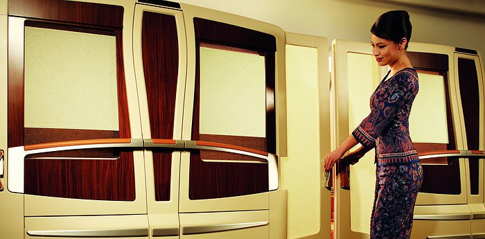Singapore Airlines Suites - Flying Apartment