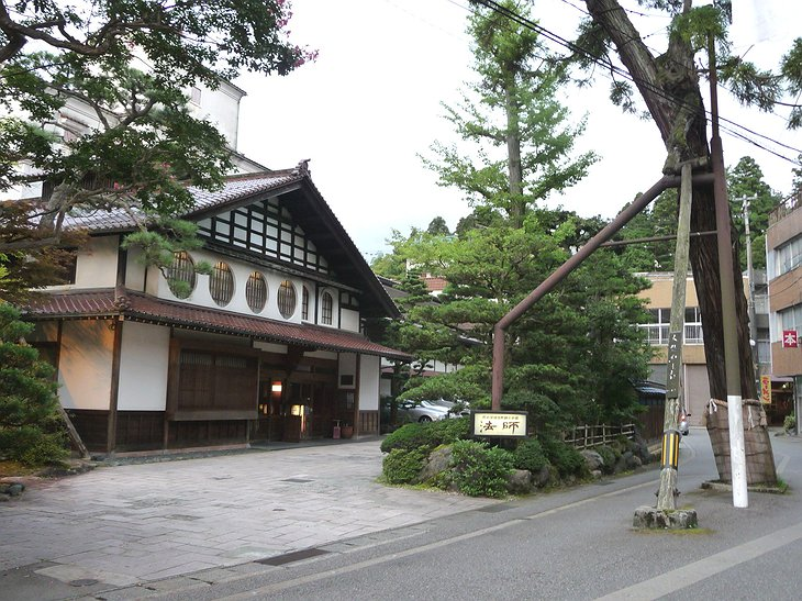 Hoshi Ryokan building, the oldest hotel in the world