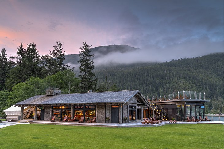Clayoquot Wilderness Resort Cookhouse