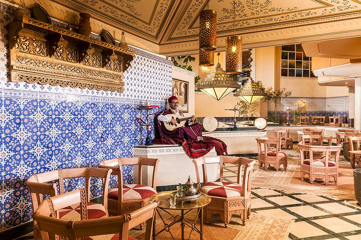 Hasdrubal Thalassa hotel Moorish cafe