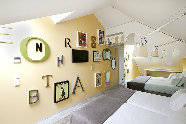 Hotel Fabrica do Chocolate twin room