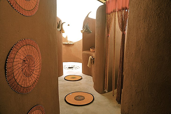 Shu'mata Camp bathroom