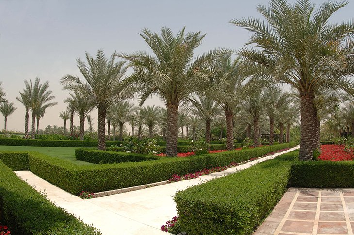 Desert Palm Resort Dubai garden