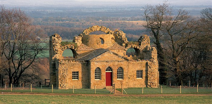 The Ruin - Grewelthorpe - Dwelling In A Romanesque Ruin