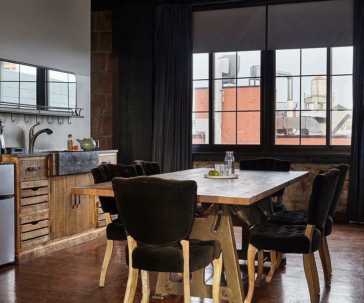 The Collective Paper Factory Penthouse Dining