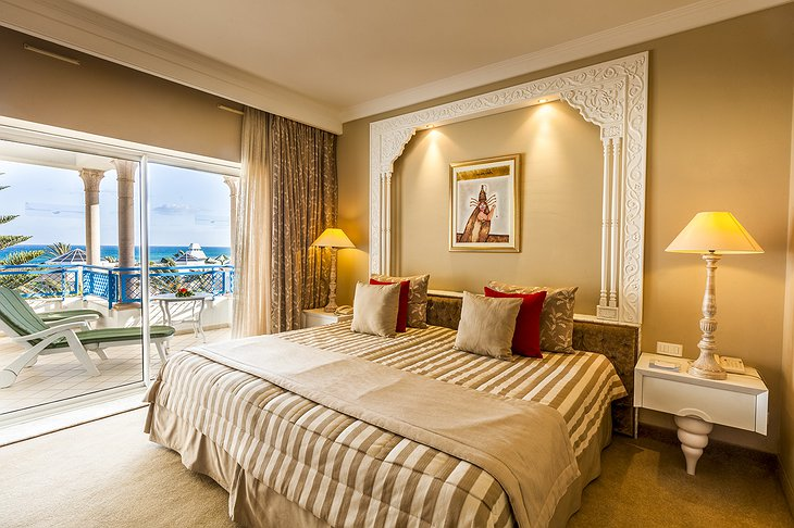 Hasdrubal Thalassa hotel room with balcony
